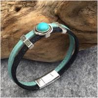 Armband aus Kork mit Schiebeperle Länge wählbar  Bild 1