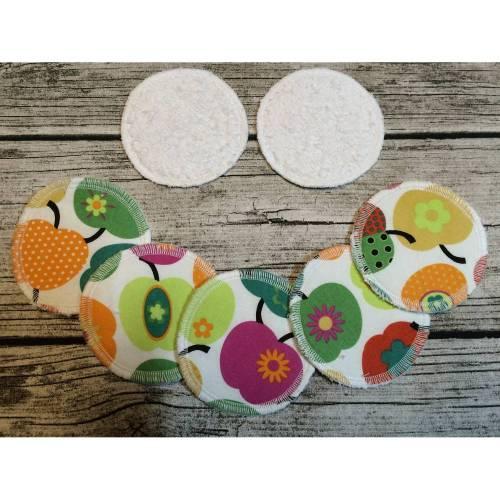 Kosmetikpads, Wiederverwendbare Abschminkpads, Set 7 Stück, zero waste, no waste