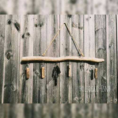 Schlüsselbrett, Schmuckaufhänger, Garderobe aus Treibholz