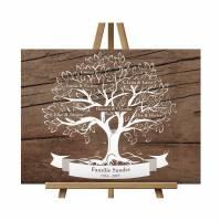 Weihnachtsgeschenk Stammbaum Geschenk für Mama Oma Opa Familienstammbaum Bild 1