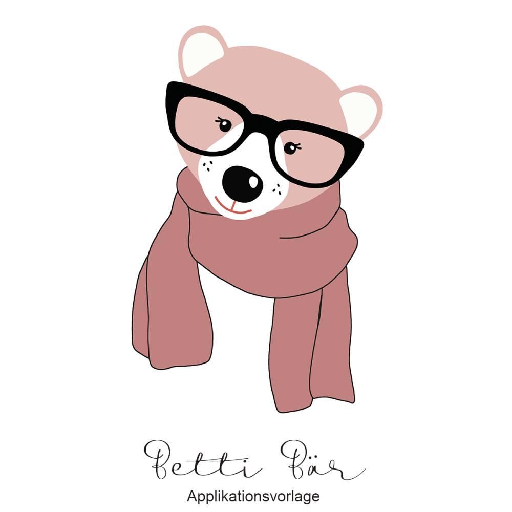 BETTI BÄR Applikationsvorlage Bild 1
