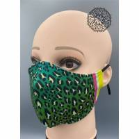Mund&Nasenmaske / albstoffe / ShieldPro / Trevira-Bioactiv / Behelfsmaske / Leo / Größe M Bild 1