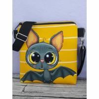 Umhängetasche für Kinder, Kindertasche Fledermaus  Bild 1