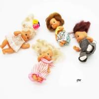 vintage kleine Püppchen aus den 80er, Kinderspielzeug, Geschenk, Bild 1