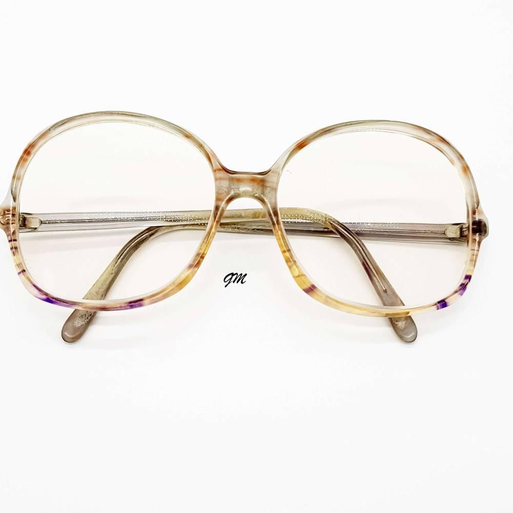 Retro - vintage original 70 er Jahre Brillenfassung Kunststoff Atrio-Design Bild 1