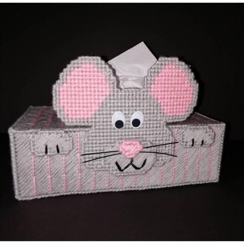 Taschentuchbox Maus