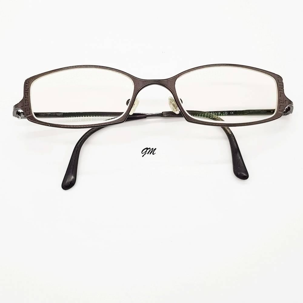 Retro - vintage original Ende 90er  Brillenfassung mit Gläsern,Titan,  Bild 1