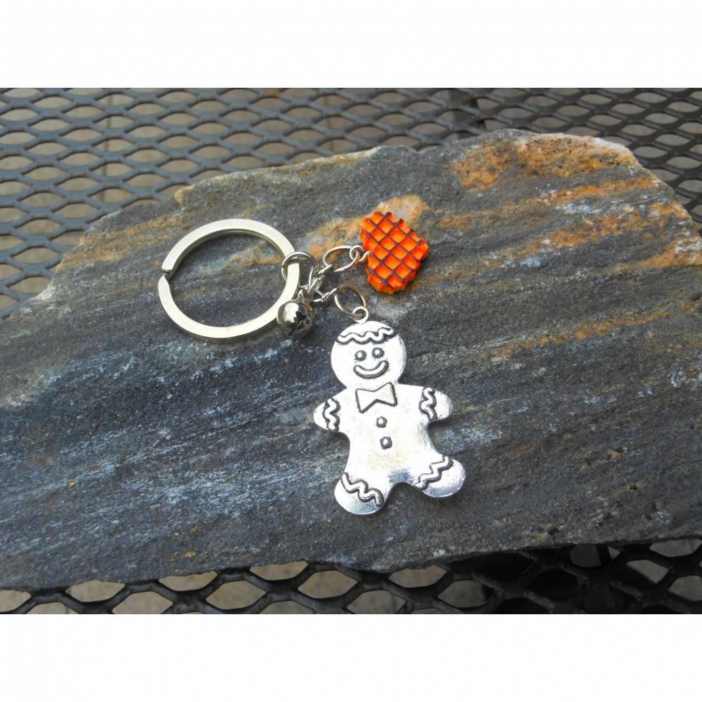 Nikolaus / Weihnachtsmann Schlüsselanhänger  Bild 1