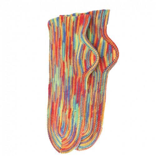 Gestrickte Socken Gr. 41/24 Bunt