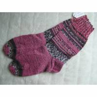 Socken - Gr. 38 - handgestrickt Bild 1
