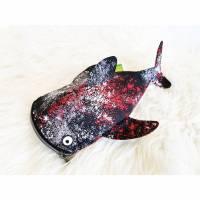 StifteMäppchen Wal_hai gesprenkelt Bild 1