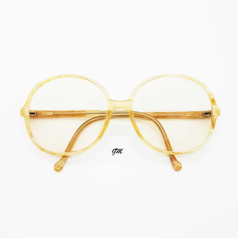 Retro - vintage original 70 er Jahre Brillenfassung Kunststoff Jil Sander  Bild 1