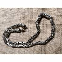 Königskette, 8 mm, rund, 925 Sterling, Handmade Bild 1