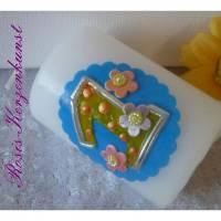 Geburtstagskerze 1. Geburtstag * Gastgeschenk * Mitgebsel * Tischkerzen * Tischdeko * Buben u. Mädchen Bild 1