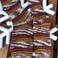 Handgestrickte Socken Gr. 42/43 für Allergiker -  Wohlfühlsocken - Kuschelsocken Bild 1