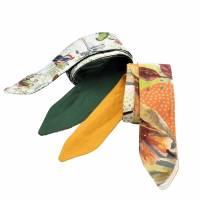 Haarband * Knotenhaarband * zum wenden und zum binden * Bindegürtel * Krawatte * Haarschleife Bild 1