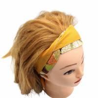 Haarband * Knotenhaarband * zum wenden und zum binden * Bindegürtel * Krawatte * Haarschleife Bild 10
