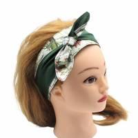Haarband * Knotenhaarband * zum wenden und zum binden * Bindegürtel * Krawatte * Haarschleife Bild 5