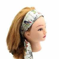 Haarband * Knotenhaarband * zum wenden und zum binden * Bindegürtel * Krawatte * Haarschleife Bild 6