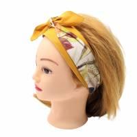 Haarband * Knotenhaarband * zum wenden und zum binden * Bindegürtel * Krawatte * Haarschleife Bild 8