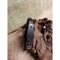 KAUTSCHUK Armband, Carbonplatte Bild 1