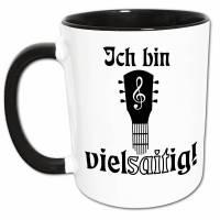 Gitarre Tasse mit Spruch, Gitarre Spielen Musik Wortspiel, Gitarristen Geschenk Kaffeetasse Bild 1