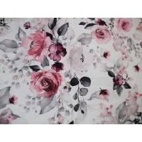 Romantischer Rosenjersey 0,5m Bild 1