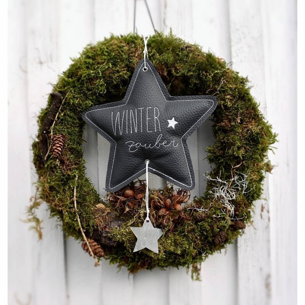 Dekostern Sternenlicht  Winterzauber Bild 1