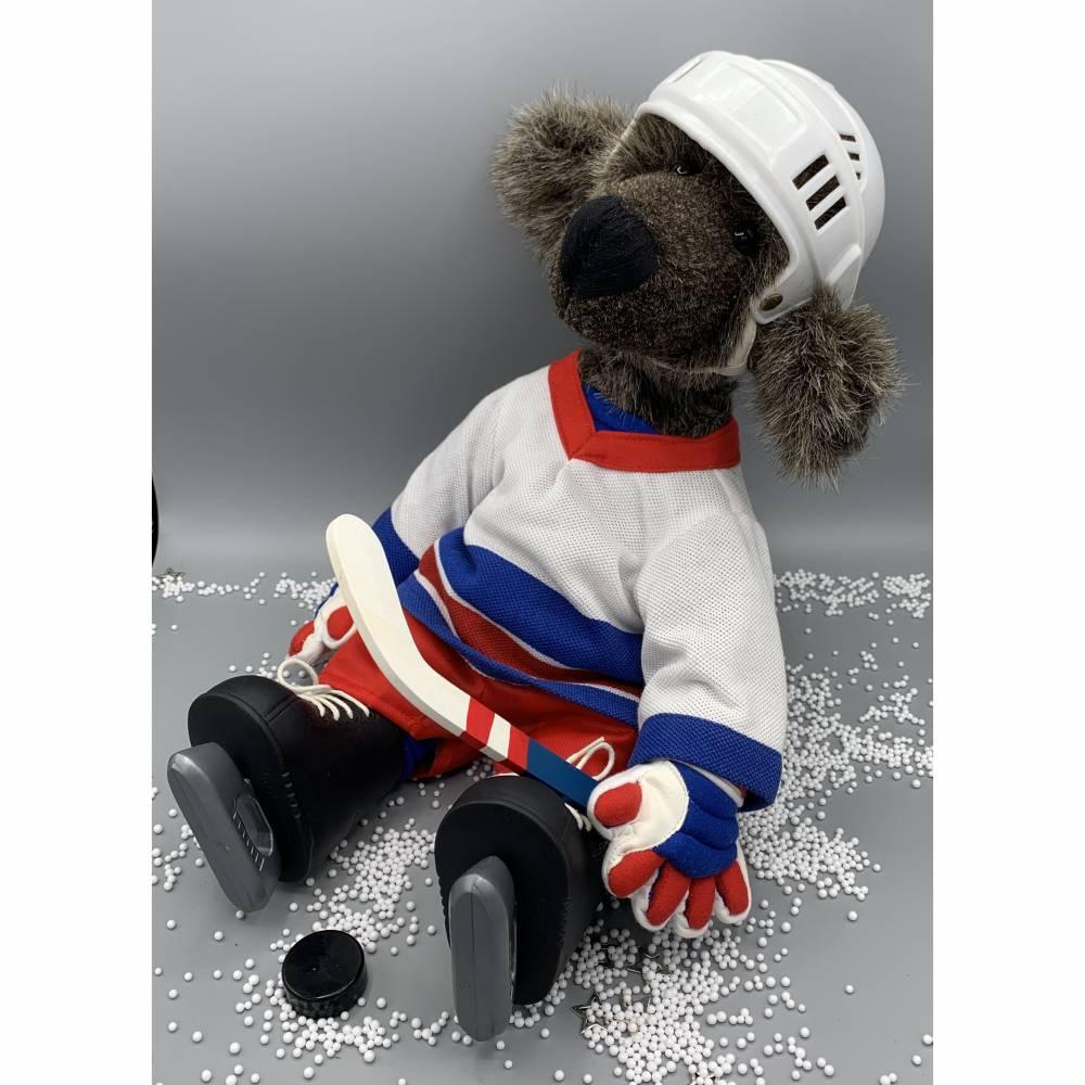 Bärino Eishockeybär Wayne G.  Bild 1