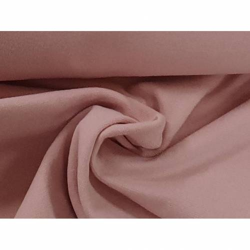 Organic Bündchen uni dusty rosa - 132