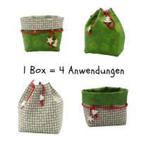 Weihnachtsboxen in zwei Größen, zum wenden und zum binden Bild 1