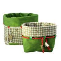 Weihnachtsboxen in zwei Größen, zum wenden und zum binden Bild 2
