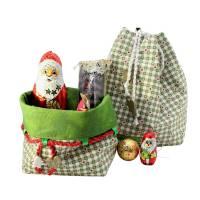 Weihnachtsboxen in zwei Größen, zum wenden und zum binden Bild 4