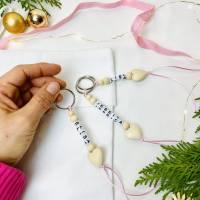 Schlüsselanhänger personalisiert, Geschenk für Erzieherin / Tagesmutter,  Bild 4