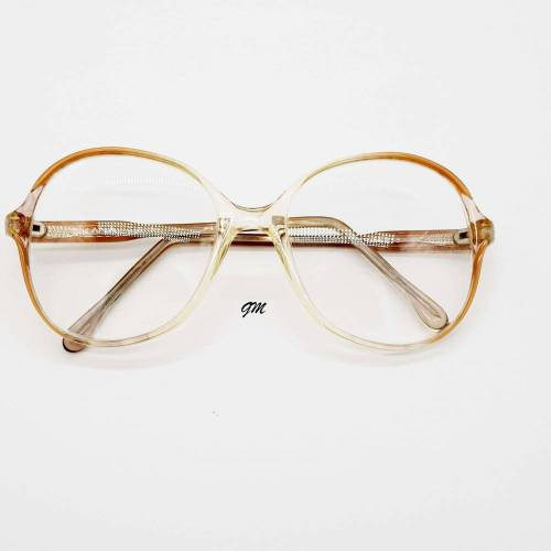 Retro - vintage original 70 er Jahre Brillenfassung Kunststoff