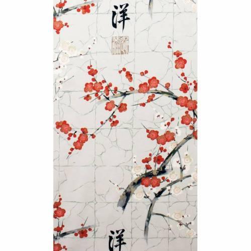 """BW """"Golden Garden - sakura"""" Kirschblüten grau Alexander Henry"""