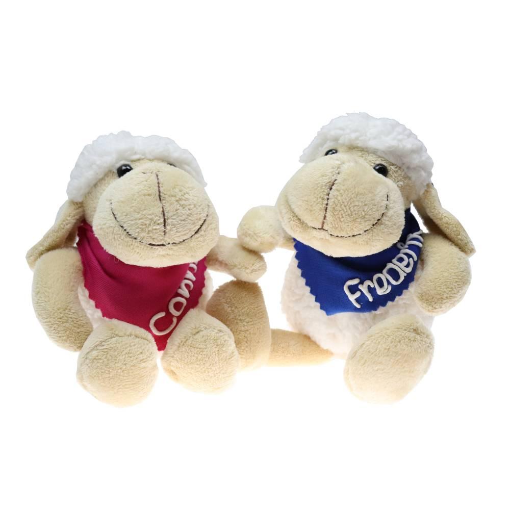 Kuschelschaf mit Namen - Kuscheltier Schaf personalisiert - Personalisiertes Kuscheltier - Ostergeschenk Geschenk  Bild 1