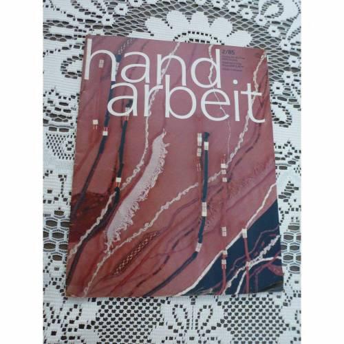 Handarbeit - Zeitschrift - 2/85 - DDR - Verlag für die Frau