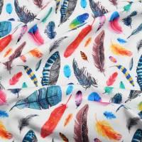 """Baby Kinder Mädchen Set Stirnband Haarband Schal Twisted Loop """"Herbstblätter"""" mit Baumwollfleece in allen Größen Bild 5"""