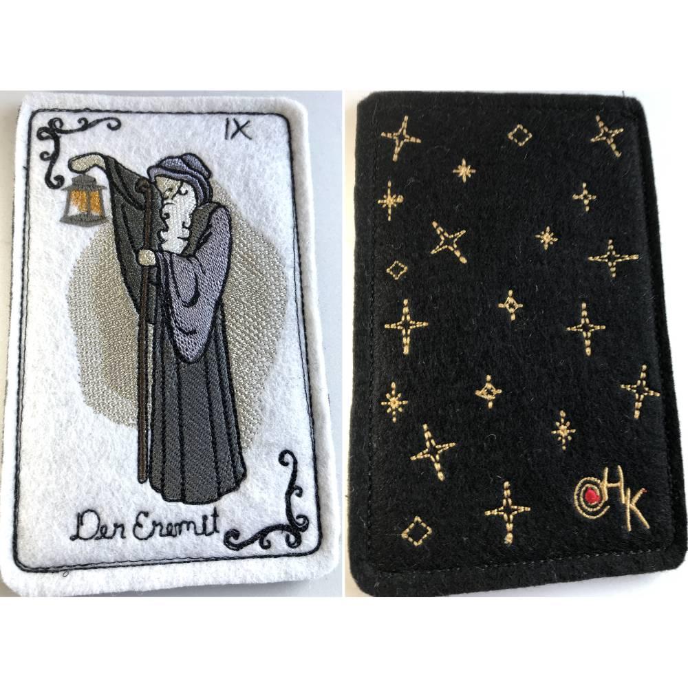 Tarot-Karte 'Der Eremit'  /  'The Hermit' aus dem Großen Arkana Bild 1