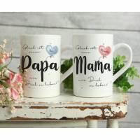 MAMA & PAPA - Tassenset ODER einzeln Bild 1