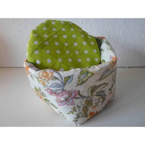 Eierkörbchen/ Eierwärmer *Viticcio* Baumwolle mit Deckel nach Wahl