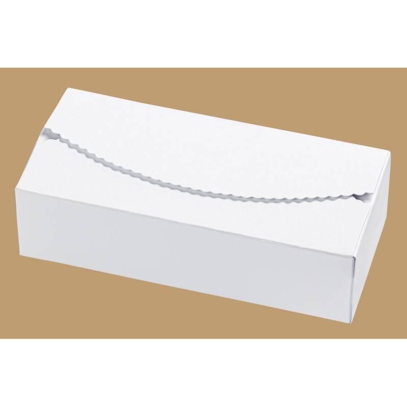 Papier-Box / Geschenkbox 150x70x40 mm - Weiß Bild 1