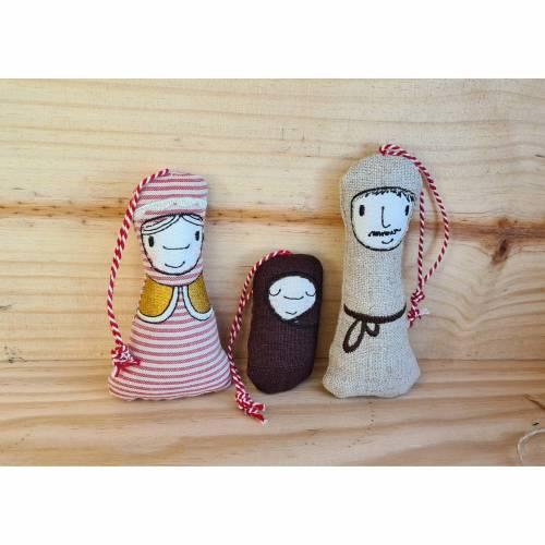 """Baumanhänger """"Heilige Familie"""" Maria, Josef und Jesus"""