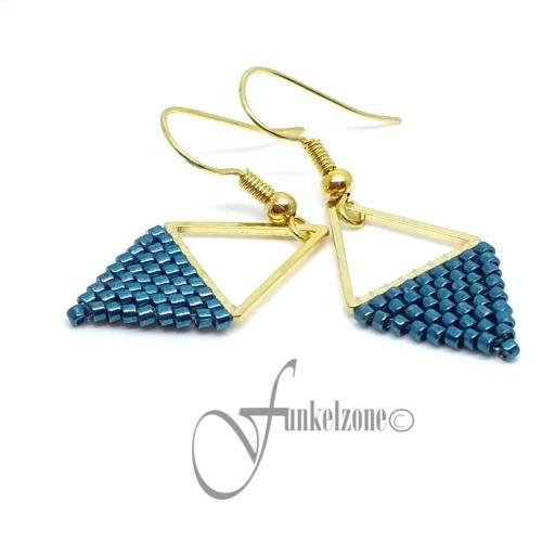 Ohrringe   Geometrische Ohrringe   Dreieck Ohrringe   JESSY - TRIANGEL   Farbwahl