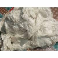 50 g Maulbeerseide Noil zum Einkardieren, Färben, Basteln oder für Papierherstellung. Grade A Bild 1