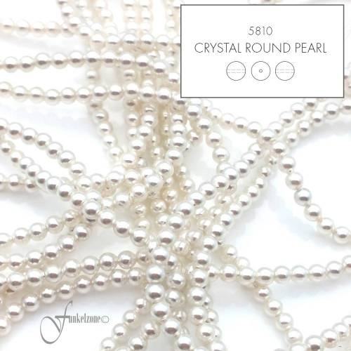 20 pcs. | SWAROVSKI© | 5810 | Crystal Round Pearl | 3 mm | crystal white Pearl