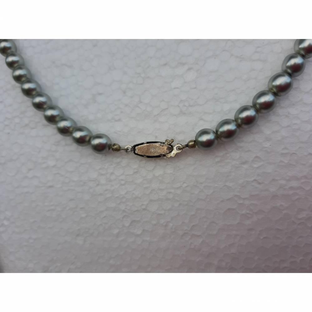 Kette ,Perlen ,Silberverschluss Bild 1