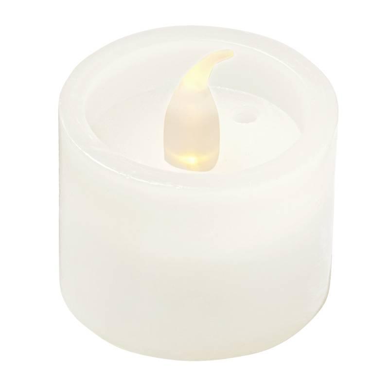LED-Teelicht Wachsoptik mit Ausblasfunktion Bild 1