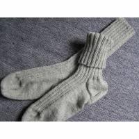 Socken - Gr. 43 - handgestrickt Bild 1